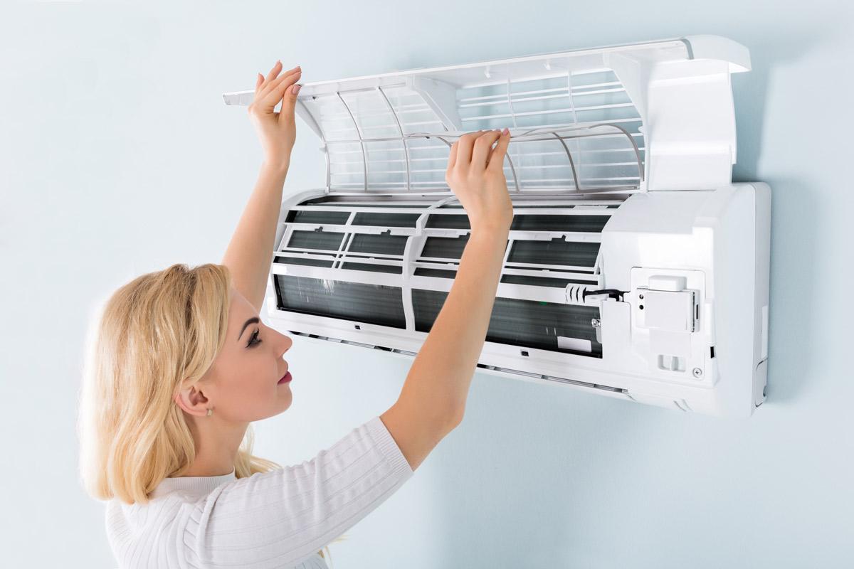 Czyszczenie klimatyzacji domowej